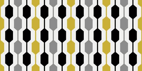 1960s Wallpaper Pattern | Repeating 60s Retro Design | Stylish Mod Geometric Design