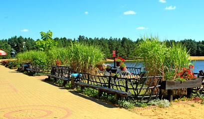 park, radawa, wypoczynek, pole, namiotowe, kemping, jezioro, basen, staw, zalew, kajaki, pływanie, turystyka, wypoczynek, pocią, ciuwcia, ciówcia, pomost, kąpiel, woda, morze, grzewa, krajobraz,
