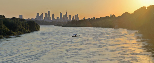 Warsaw, Poland - view of the city.