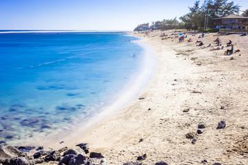 beach, Saint-Pierre, Reunion island