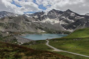 Lovely lakes nestled in the Gran Paradiso National Park.