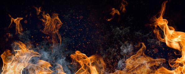 Feuer Rauch Grillen