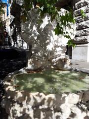 Fontana delle Api (Fontanna Pszczół) przy Piazza Barberini. Rzym.