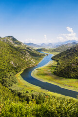 Nature reserve in Montenegro - breathtaking views of mountains and lakes - rich flora and fauna