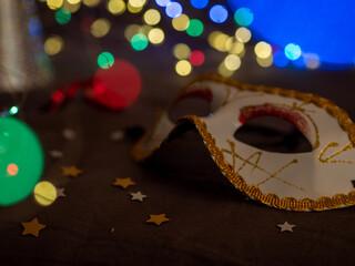 maska karnawał - zabawa karnawałowa, bal