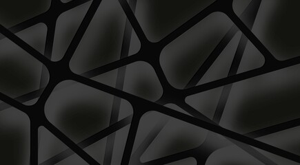 Mesh genetic fibers background for text geometric lines dark background