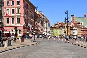 Warszawa, miasto, stolica Polski