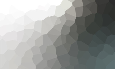 Black and White Gradient vector modern geometrical abstract background. Texture. Geometric background with gradient.
