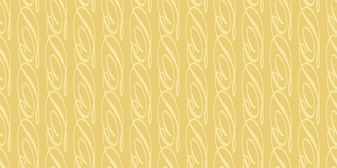 Abstract background pattern with ornament on a gold background. Seamless wallpaper texture for your design. Vector illustration
