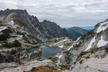 Lake in Enchantments Washington
