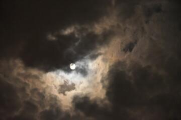 ponure niebo