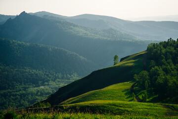 Krasnoyarsk, Torgashinsky ridge, Pillars Nature Reserve, beautiful view of summer