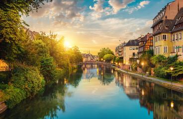 Strasbourg in the evening