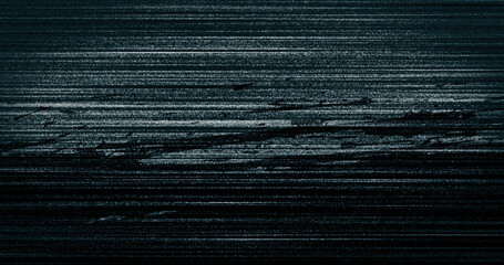 Image of multiple black and blue squiggles and lines moving on seamless loop