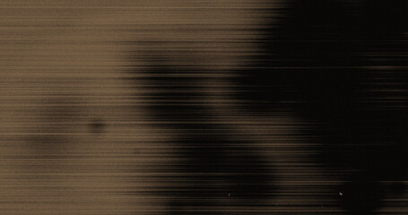 Image of multiple white specks and lines moving on seamless loop in black and brown