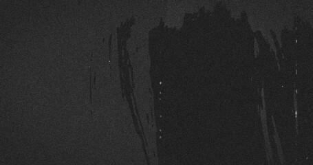 Image of multiple grey splashes moving on seamless loop on grey background