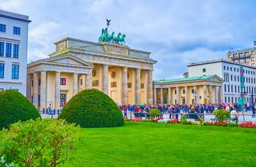 The most famous landmark in Berlin, Germany