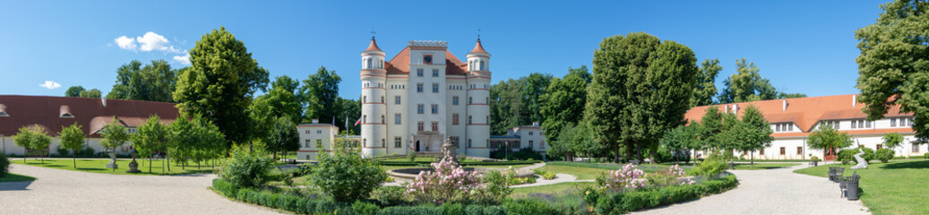 Valley of Palaces and Garden - Dolina Palacow i Ogrodow - Palace in Wojanow, Schloss Schildau