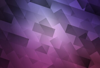 Light Purple, Pink vector backdrop with rhombus.