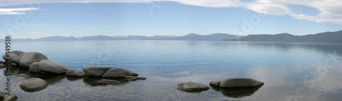mountain lake panorama #2