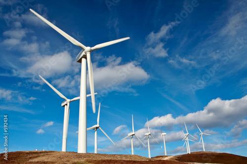 farma turbin wiatrowych