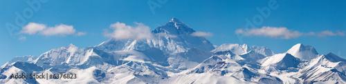 Mount Everest, widok z Tybetu