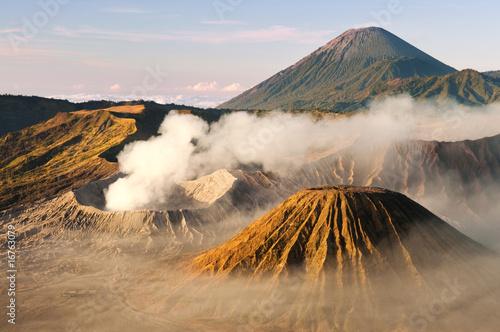 Mount Bromo volcanoes in Tengger Caldera, Java, Indonesia.