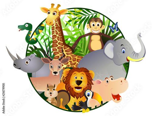 Kreskówka Safari
