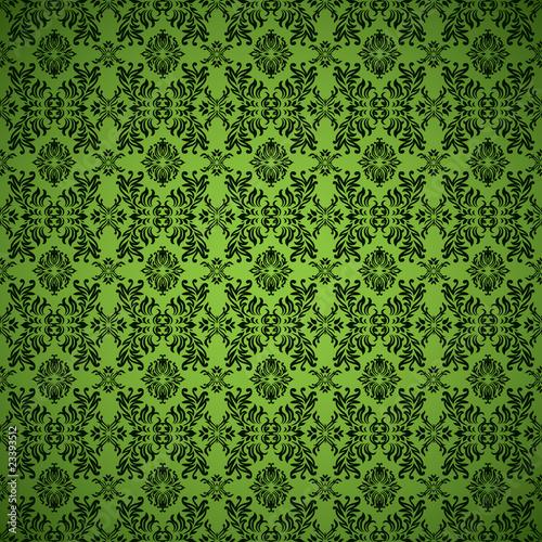 gothic seamless green wallpaper