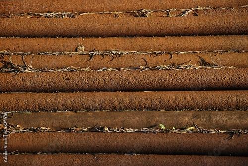 stare metalowe rury
