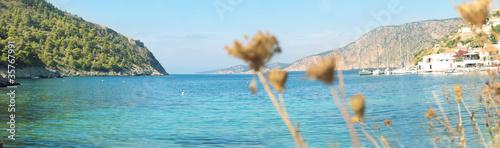 morski krajobraz Kefalonia, Grecja