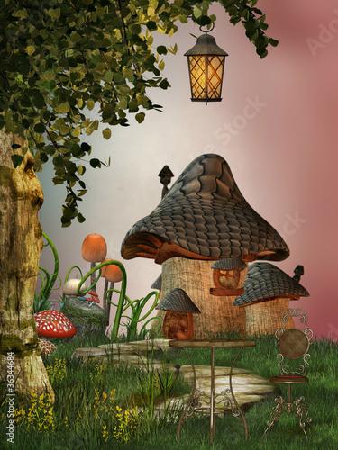 dom grzybowy