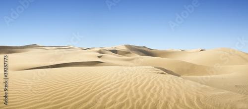 Złota pustynia.