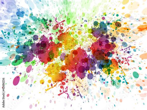 wersja rastrowa streszczenie kolorowe tło powitalny