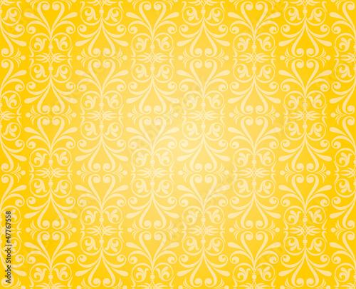 orange & yellow wallpaper background design