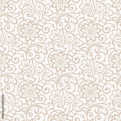 Floral seamless royal wallpaper