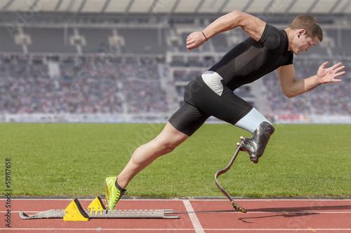 disabled sprinter start block