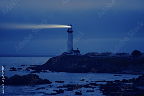 Lighthouse in California