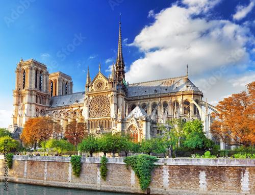 Katedra Matki Bożej Paryskiej. Paryż. Francja.