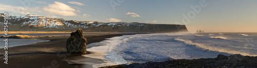 Black beach of Dyrholaey, Vik, Iceland