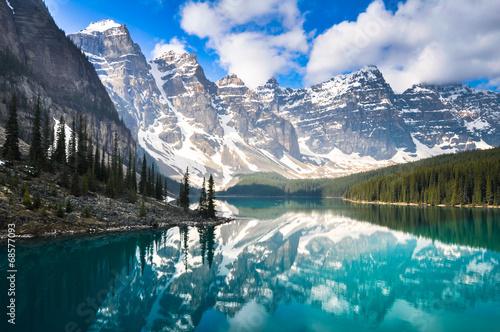 Jezioro Moraine, Góry Skaliste, Kanada