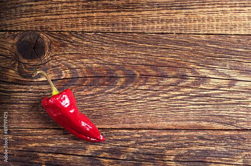Czerwona ostra papryka