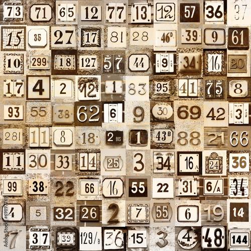 zabytkowe numery domów