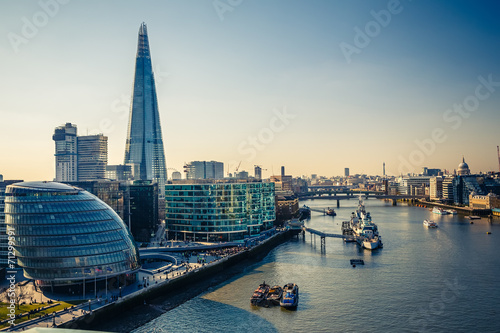 Thames and London City