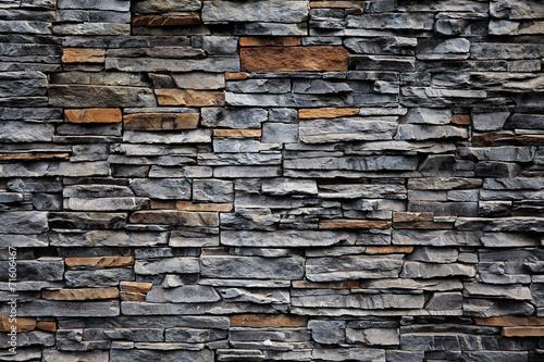 Stary ściana z cegieł od kamienia