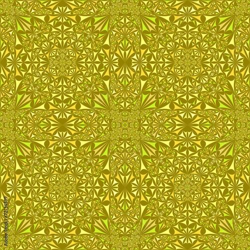 Yellow seamless pattern wallpaper