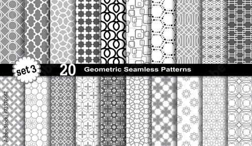 Geometric Seamless Patterns.