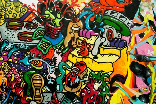 graffiti art urbain