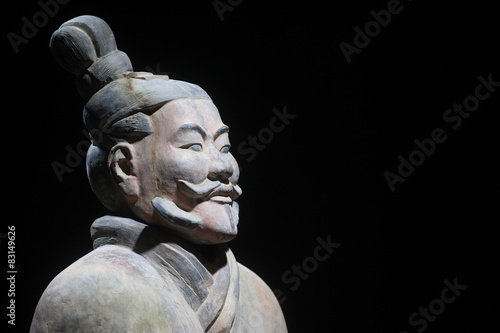 Terracotta army, replica of warrior