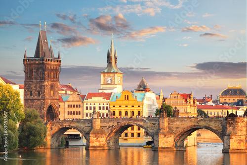 Praga - Most Karola, Republika Czeska